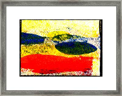 I Let Go Of The Fish Framed Print by Kimanthi Toure
