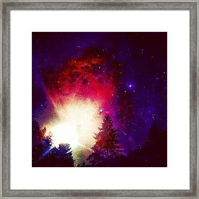 I Live On Mars. #igers #iphone4s Framed Print