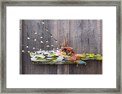 I Love Fish Framed Print
