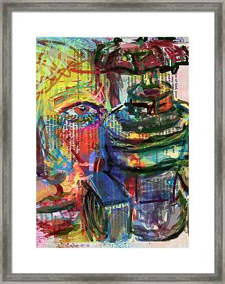 I Love Gate Valves Too Sweetie Framed Print by James Thomas