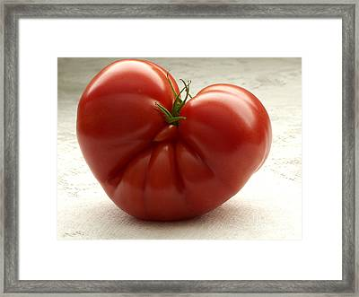 I Love Tomatoes Framed Print by Sharon Talson