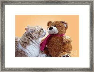 I Love You Framed Print by Ellen Cotton