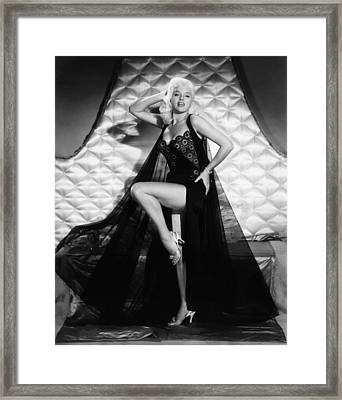 I Married A Woman, Diana Dors, 1958 Framed Print