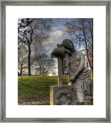 I Miss You Framed Print by Lee Dos Santos