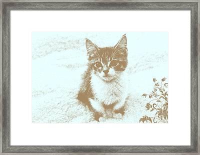 I Miss You Framed Print by Teresa Zieba