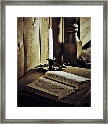I Pray For Us  Framed Print by Jerry Cordeiro