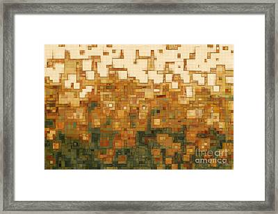 I Saw The Light Framed Print by Mark Lawrence