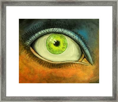 I See You Framed Print by Edwin Alverio