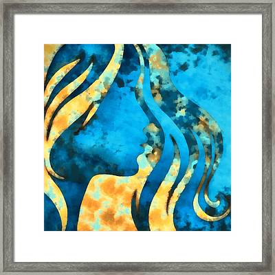 I Should Have Said Goodbye 2 Framed Print by Angelina Vick