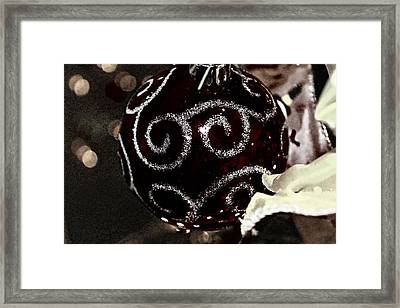 I Smell Christmas In The Air Framed Print by Hannah Miller