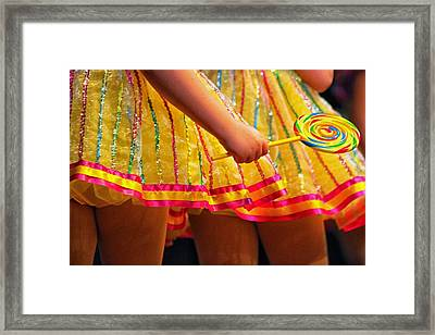 I Want Candy Framed Print by Lauri Novak