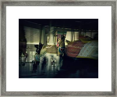 I Want Off This Ride Framed Print by Scott Hovind