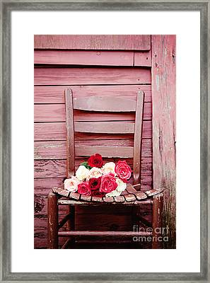 I Will Be Waiting Framed Print