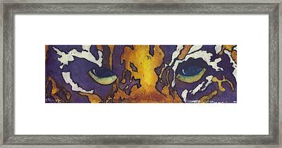 I Will Be Watching You Framed Print by Julliette Salter