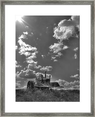 I Will Not Be Forgotten Framed Print by William Fields