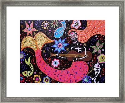 I Will Sing To You A Lovesong Framed Print by Pristine Cartera Turkus