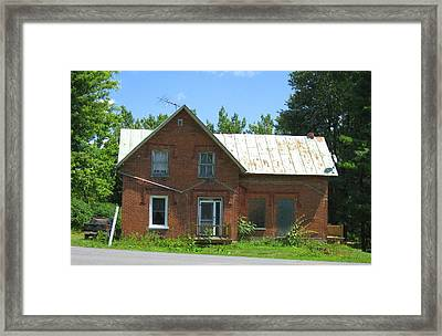 I Will Take The Morning Train Framed Print by Richard Stanford