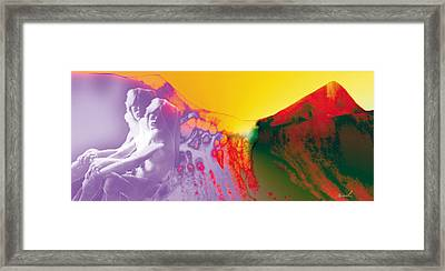 I Wonder What Makes You Dance Framed Print by The Art of Marsha Charlebois
