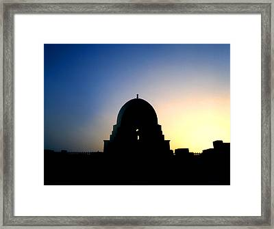 Framed Print featuring the photograph Ibn Tulun by David Harding