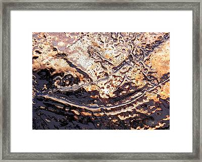 Ice Blade Framed Print