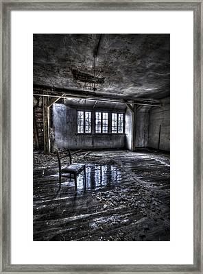 Ice Chair Framed Print