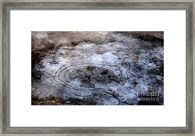 Ice Figures Framed Print by Pauli Hyvonen