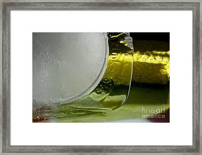 Ice Obsession One Framed Print by Gwyn Newcombe