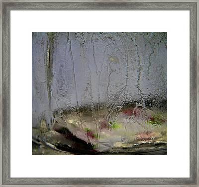 Ice Framed Print by Odd Jeppesen