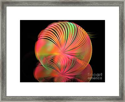 Ice Plant Framed Print