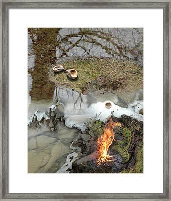 Ice Span Framed Print
