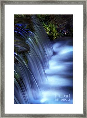 Ice Water Blue Framed Print by Paul W Faust -  Impressions of Light