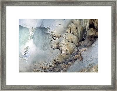 Iceforms Framed Print