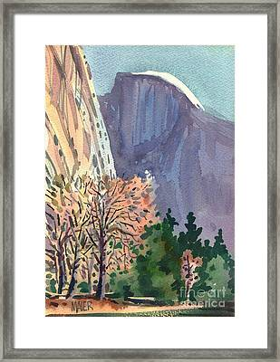 Icon Yosemite Framed Print by Donald Maier