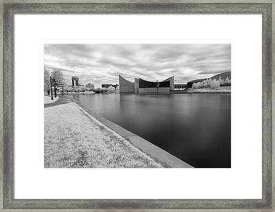 Framed Print featuring the photograph Ict Ir by Brian Duram