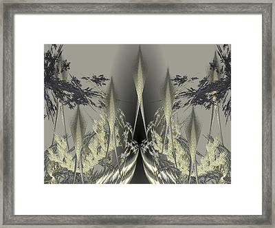 ICY Framed Print by Ricky Kendall