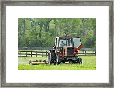 Framed Print featuring the photograph I'd Rather Be Fishing   2 by Sami Martin