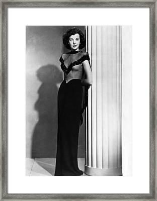 Ida Lupino, 1945 Framed Print by Everett