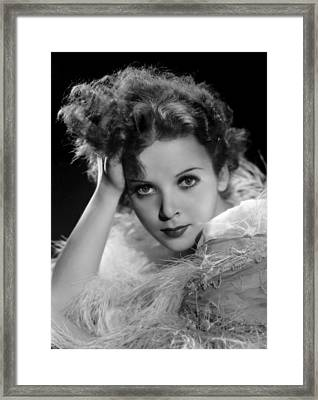 Ida Lupino, Paramount Pictures Photo Framed Print