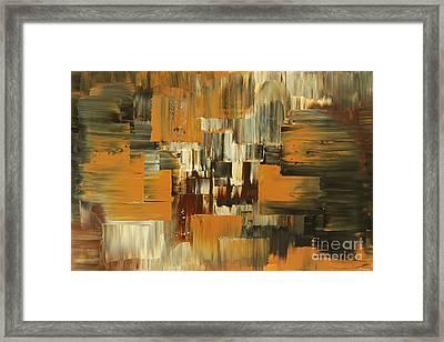 Framed Print featuring the painting Ideas Evolve by Tatiana Iliina
