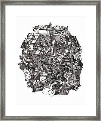 Idiomatic 160 Plus Framed Print by Tyler Auman