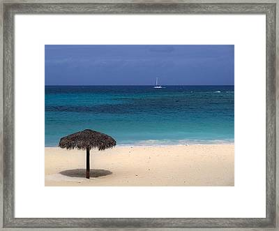 Framed Print featuring the photograph Idyllic Day by Lynn Bolt