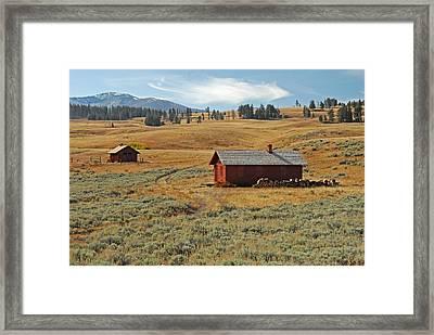 Idyllic Framed Print by Sandy Sisti