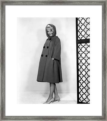 If A Man Answers, Sandra Dee, 1962 Framed Print by Everett