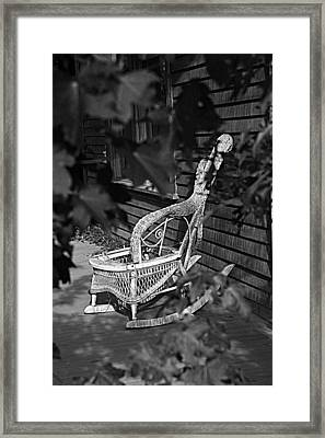 If Chairs Could Talk Framed Print