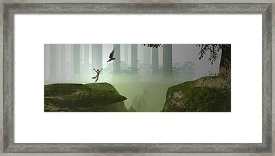 If I Could Fly . . .  Framed Print