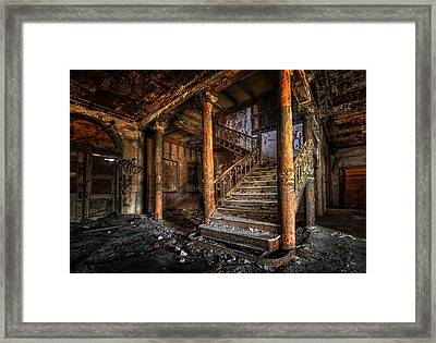 If I Could Turn Back Time Framed Print