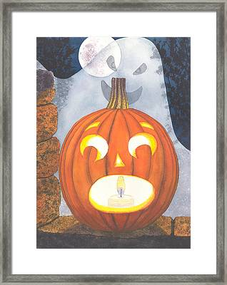 If I Had Legs I'd Be Running Framed Print by Catherine G McElroy