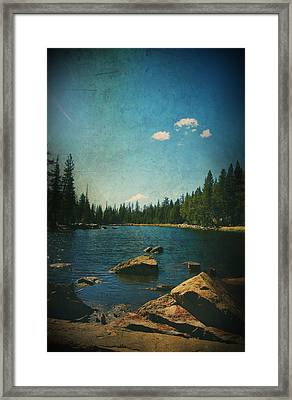 If It Could Be Just You And Me Framed Print by Laurie Search
