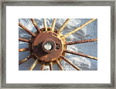 If The Sun Rusted  Framed Print