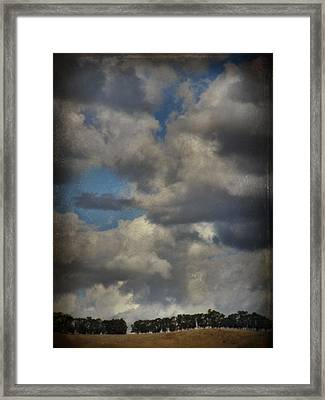If The World Ends Today Framed Print by Laurie Search